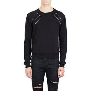 SAINT LAURENT Multi Zip Sweatshirt